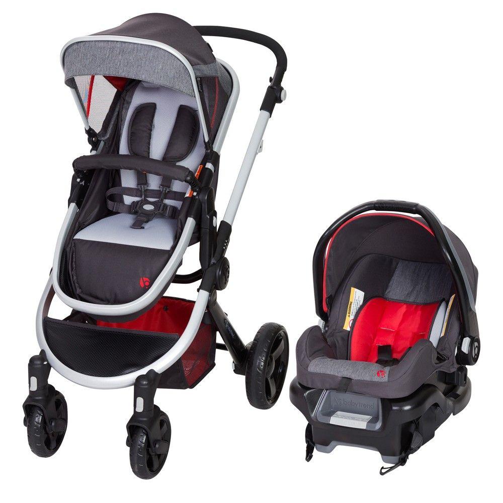 Baby Trend ESPY 35 Travel System Firefly, Gray Travel