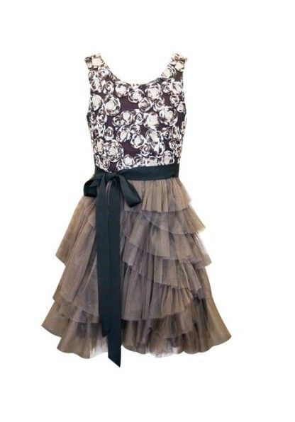 Tween Girls Dresses 7 16 | Bonnie Jean TWEEN GIRLS 7-16 BLACK ...