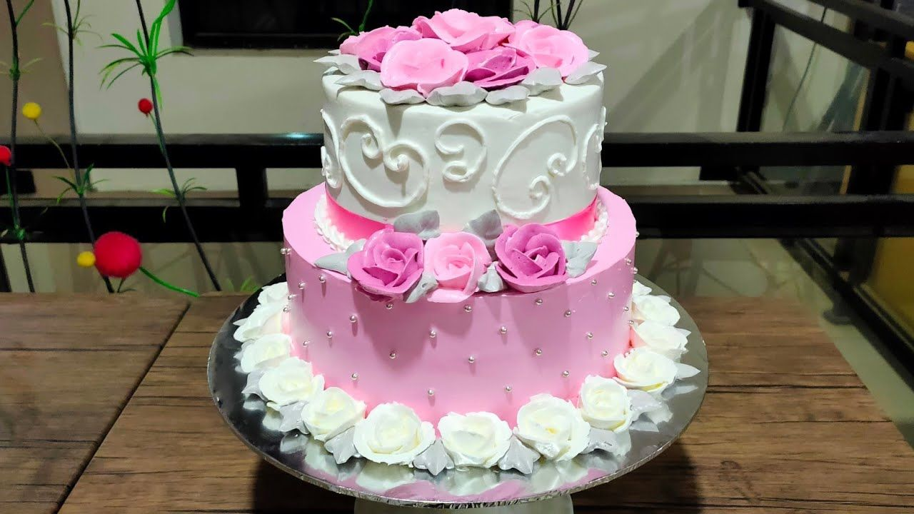 Resep Cara Membuat Kue Ulang Tahun Bunga Mawar Cantik Jelita Youtube Kue Bunga Kue Kue Ulang Tahun