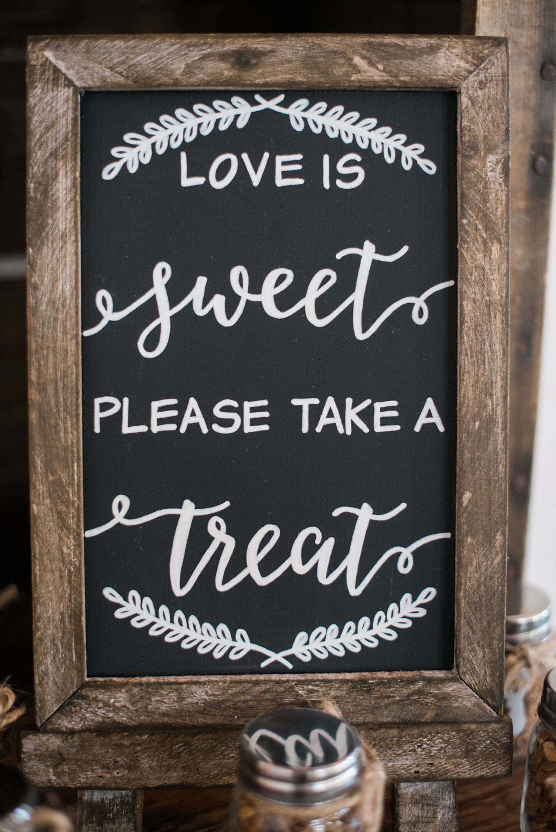 The Smarter Way to Wed Wedding Signage