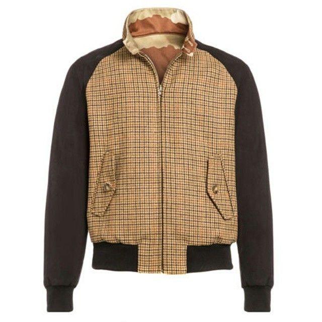 Baracuta reversible bomber jacket @baracuta #Baracuta #reversible #streetfashion #streetstyle #mensstyle #mensfashion #oldschool #dapper #suave #classic #stylish #fashionbloggers #blackpelican...