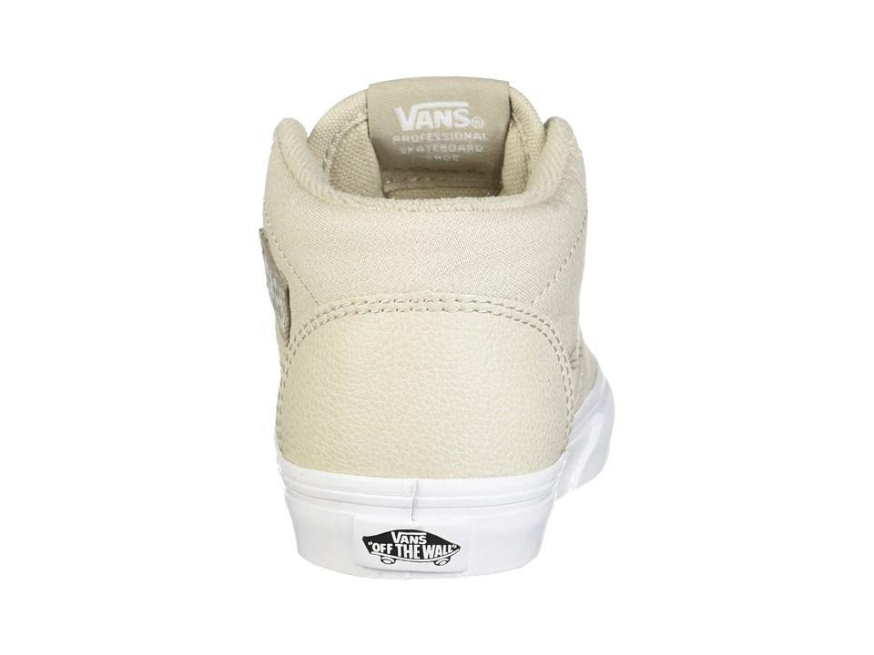 bd030a2993c603 Vans Kids Half Cab (Toddler) Boys Shoes (Suiting) Silver Lining True White