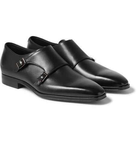 Handmade men monk strap shoes 3274a556f4
