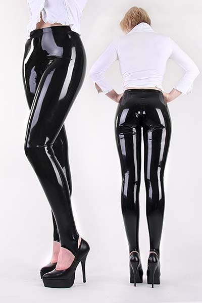 4ed37352c5b5a free shipping womens plus size sexy black wet look leather pvc pants  leggings M 2XL-in Leggings from Women s Clothing   Accessories on  Aliexpress.com ...