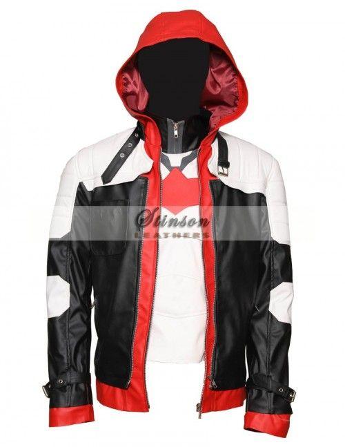 Batman Todd Arkham De Knight Costume Jacket Jason Diseño Vest pf77WRqr