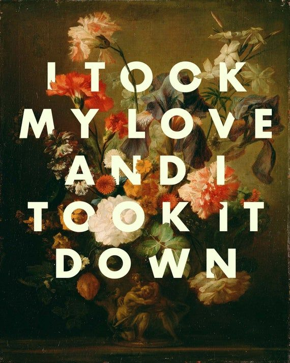 Fleetwood Mac Landslide Lyrics Unframed Print