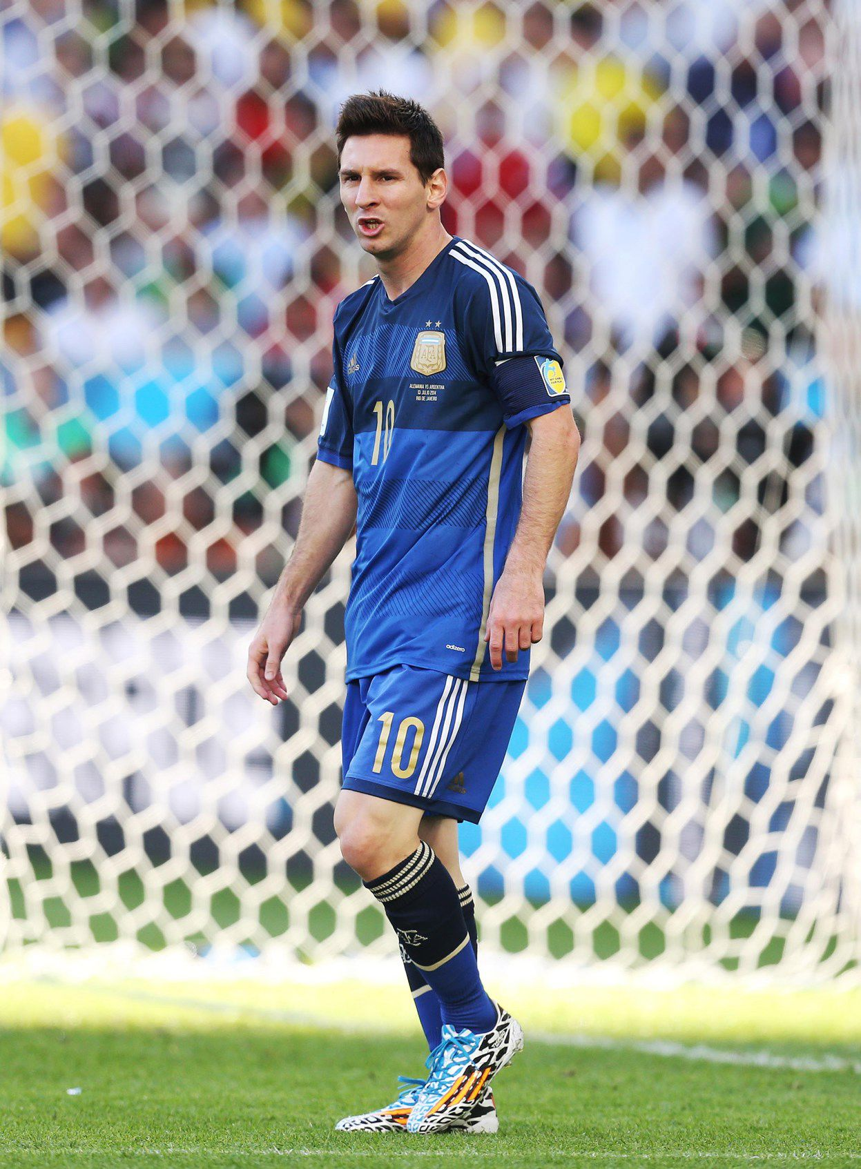 World Cup Final Argentina Vs Germany July 13 2014 Wc2014 Worldcup Worldcup2014 Messi Lionel Messi Cristiano Ronaldo Lionel Messi Soccer Girl Problems