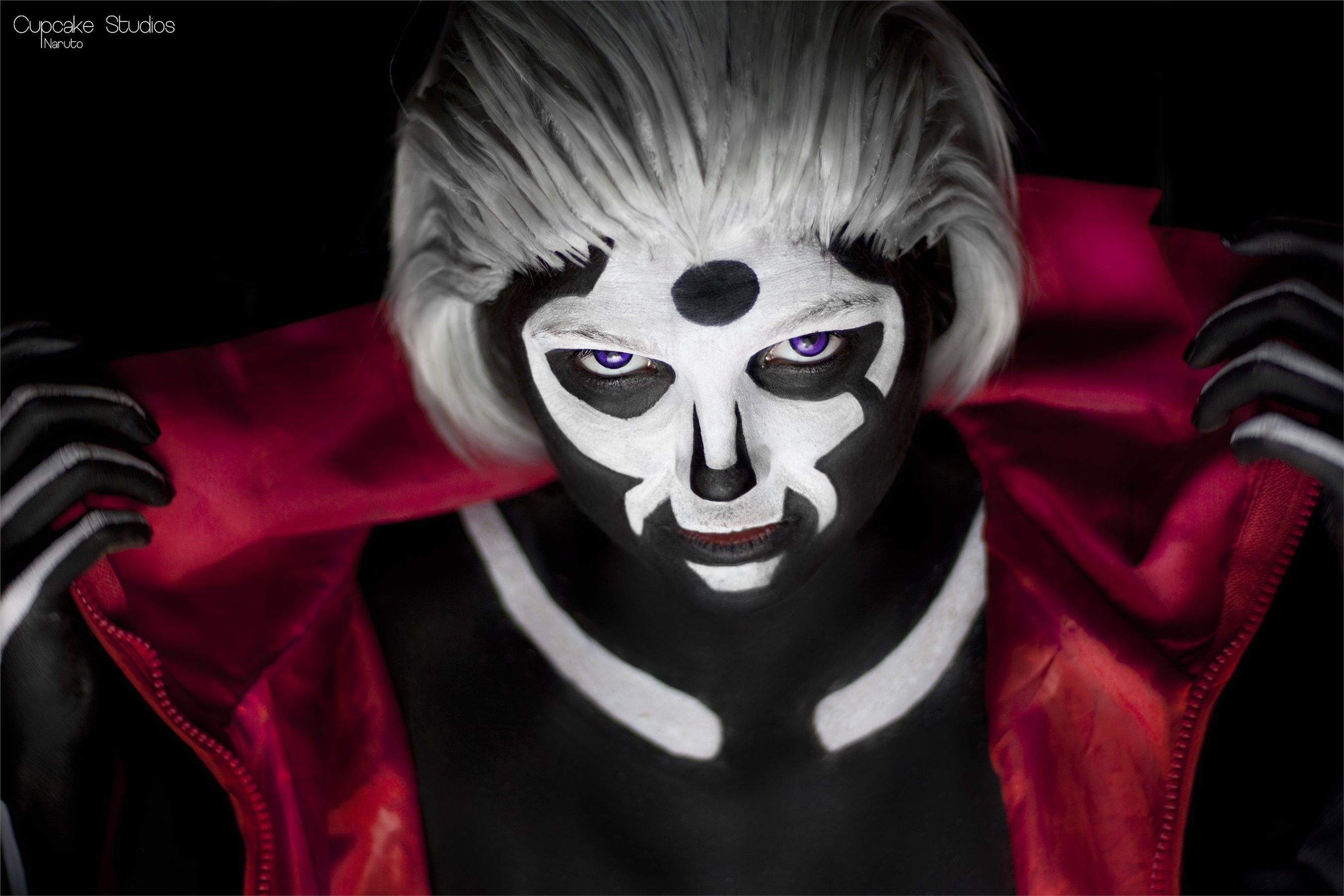 Hidan Bodypainting Photoshoot - Lou Hidan Cosplay Photo