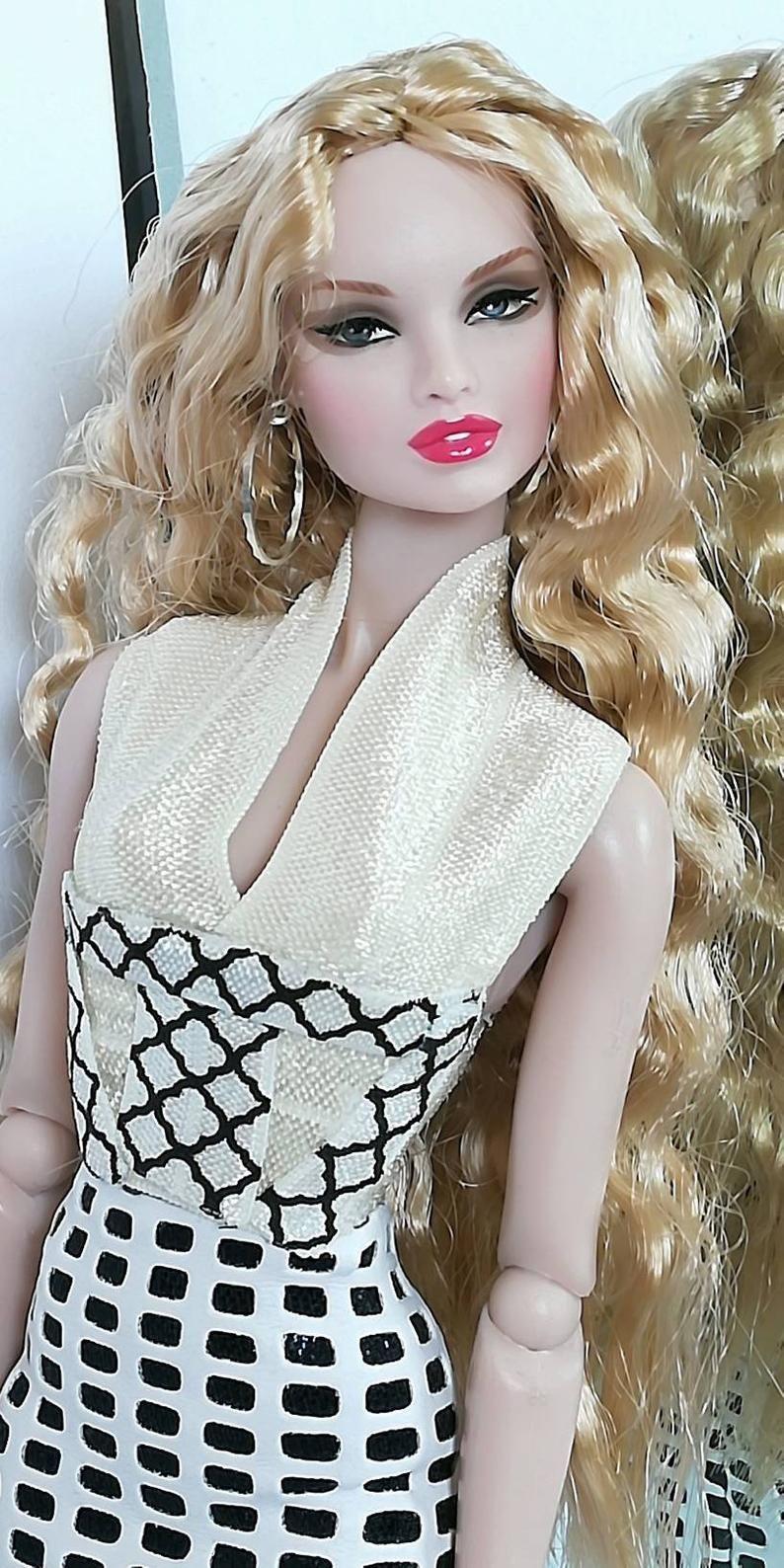 12 inch fashion doll 2 pc set