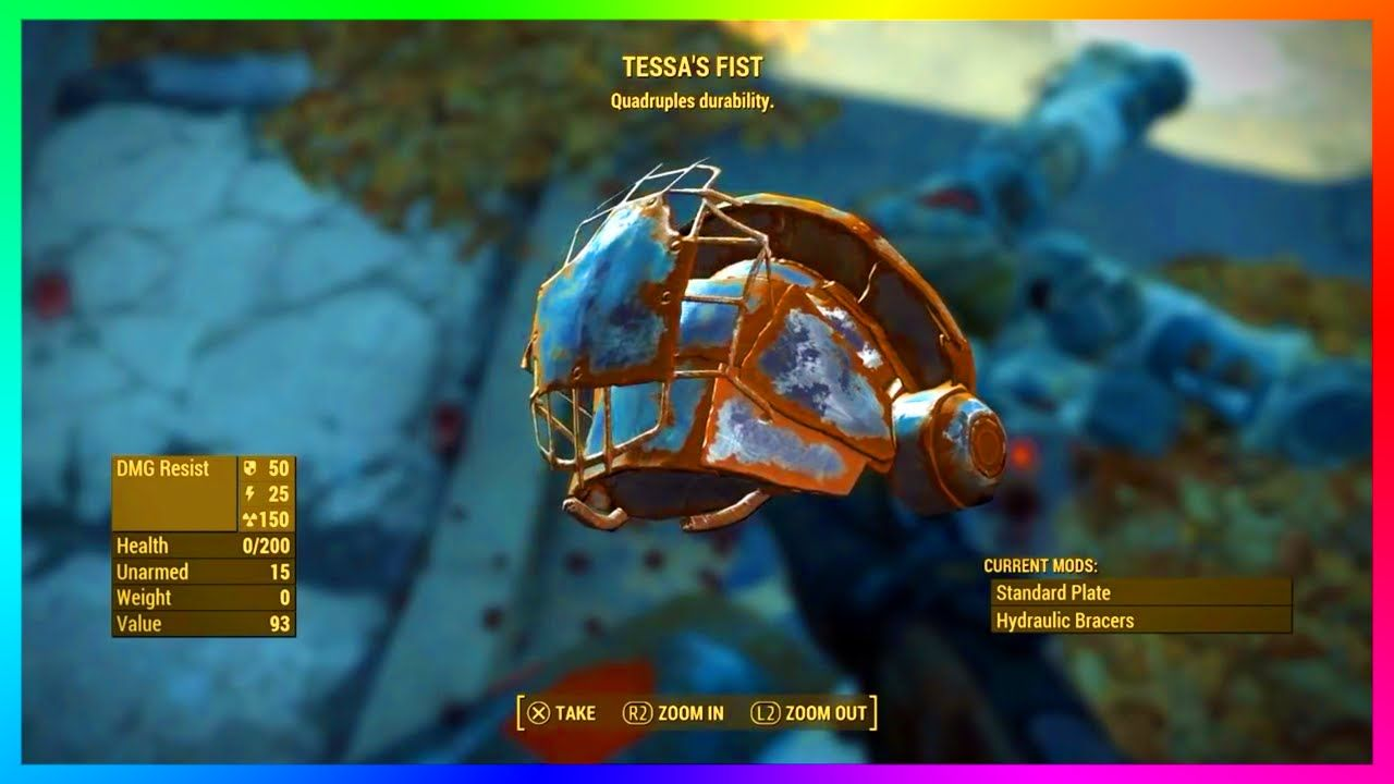 Fallout 4 - LEGENDARY Power Armor Location & Guide! - Tessa's Fist