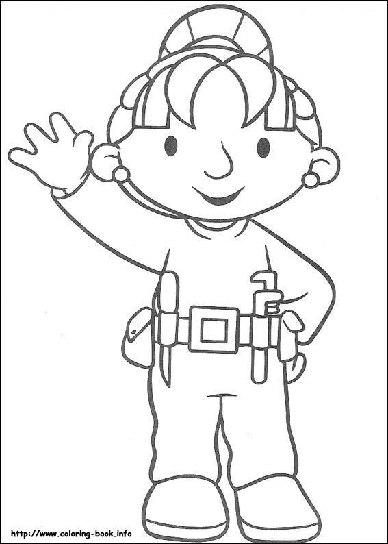 Bob The Builder Coloring Picture Printables Malvorlagen