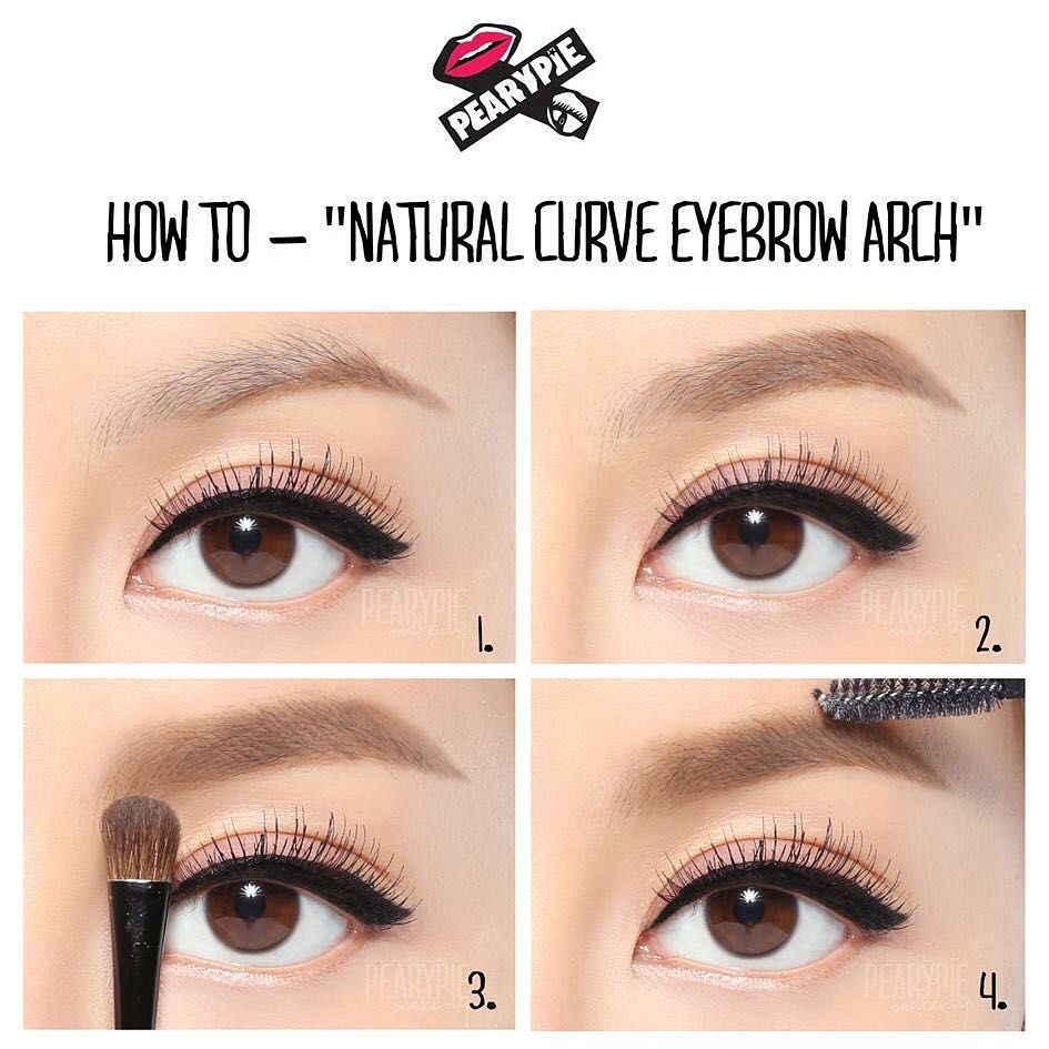 How To Have A Natural Curve Eyebrow Arch Using