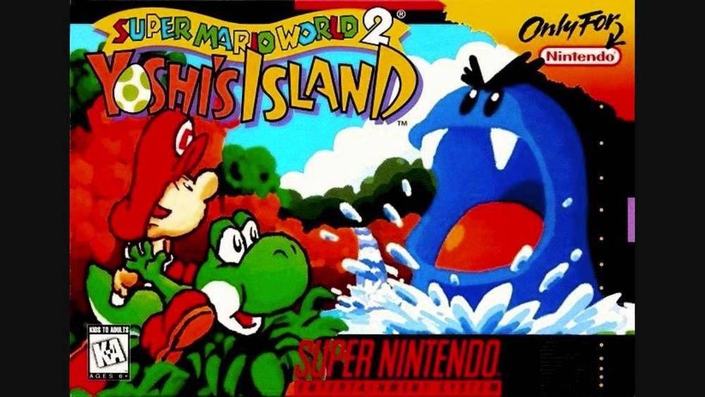 Super Mario World 2 Yoshi S Island Super Nintendo Cartridge Only Super Mario World Super Nintendo Classic Video Games