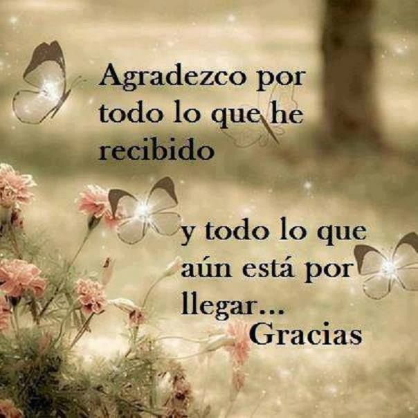 Agradecimiento Hay En Mi Corazón Muchas Son Las Cosas Que Mi Dios
