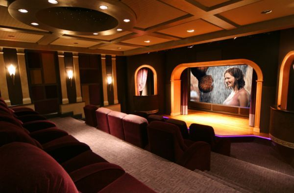 Beautiful Home theater Room Design