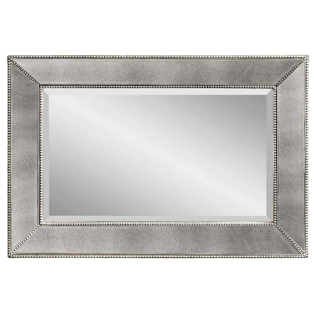 Beaded Antique Mirror Wall Mirror Antique Mirror Wall Framed Mirror Wall