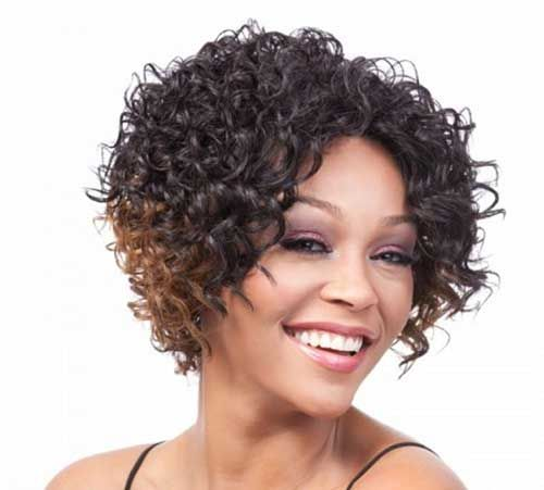 50 Beautiful Quick Weave Short Curly Hairstyles