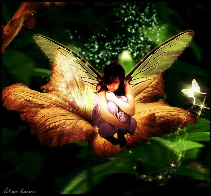 Beautiful Fairy Art | Sad fairy by tropicalfairy