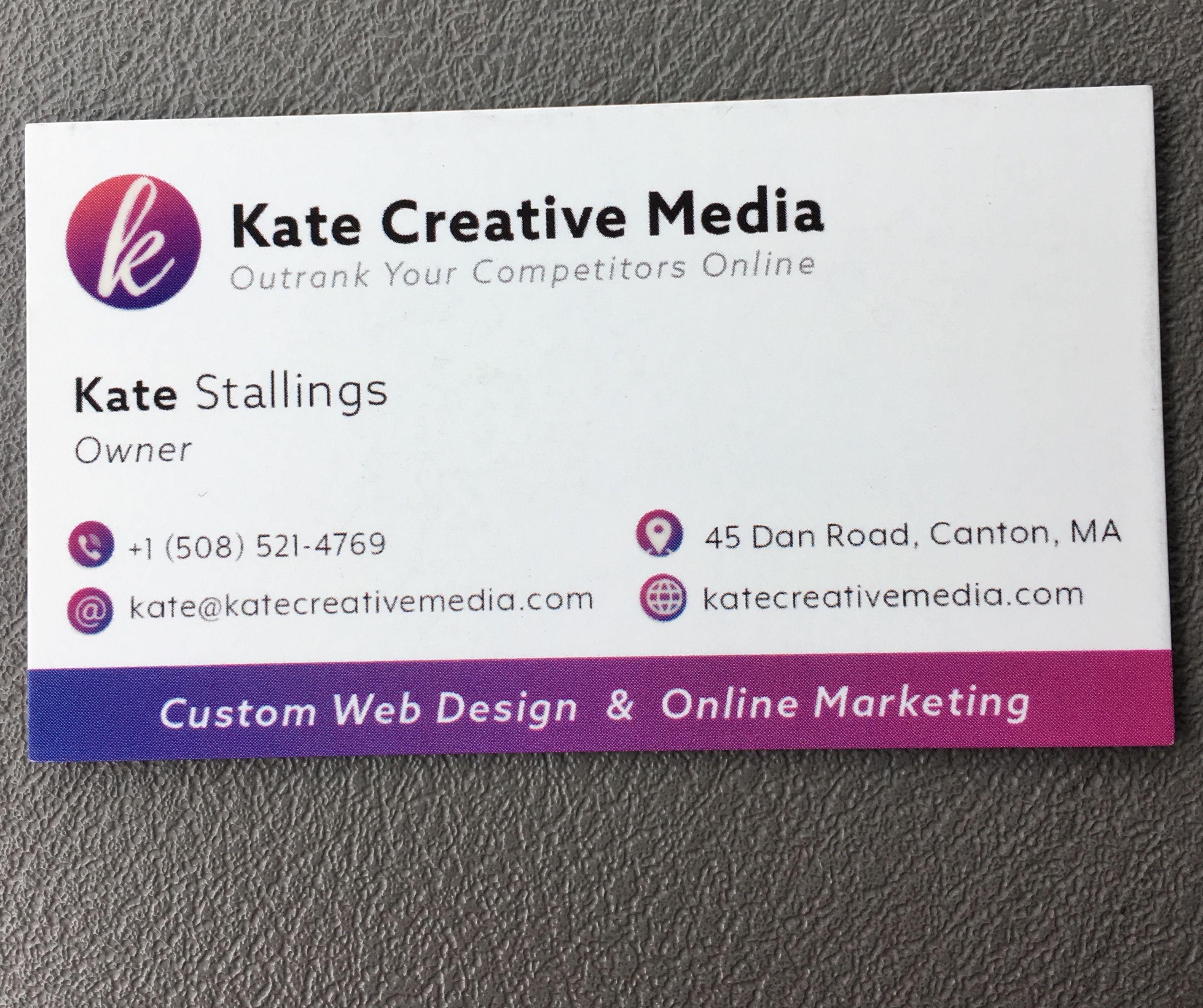 Web Design Business Card Business Card Design Web Design Web Marketing