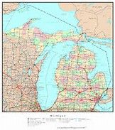 Michigan County Map Printable Bing Images Michigan Pinterest