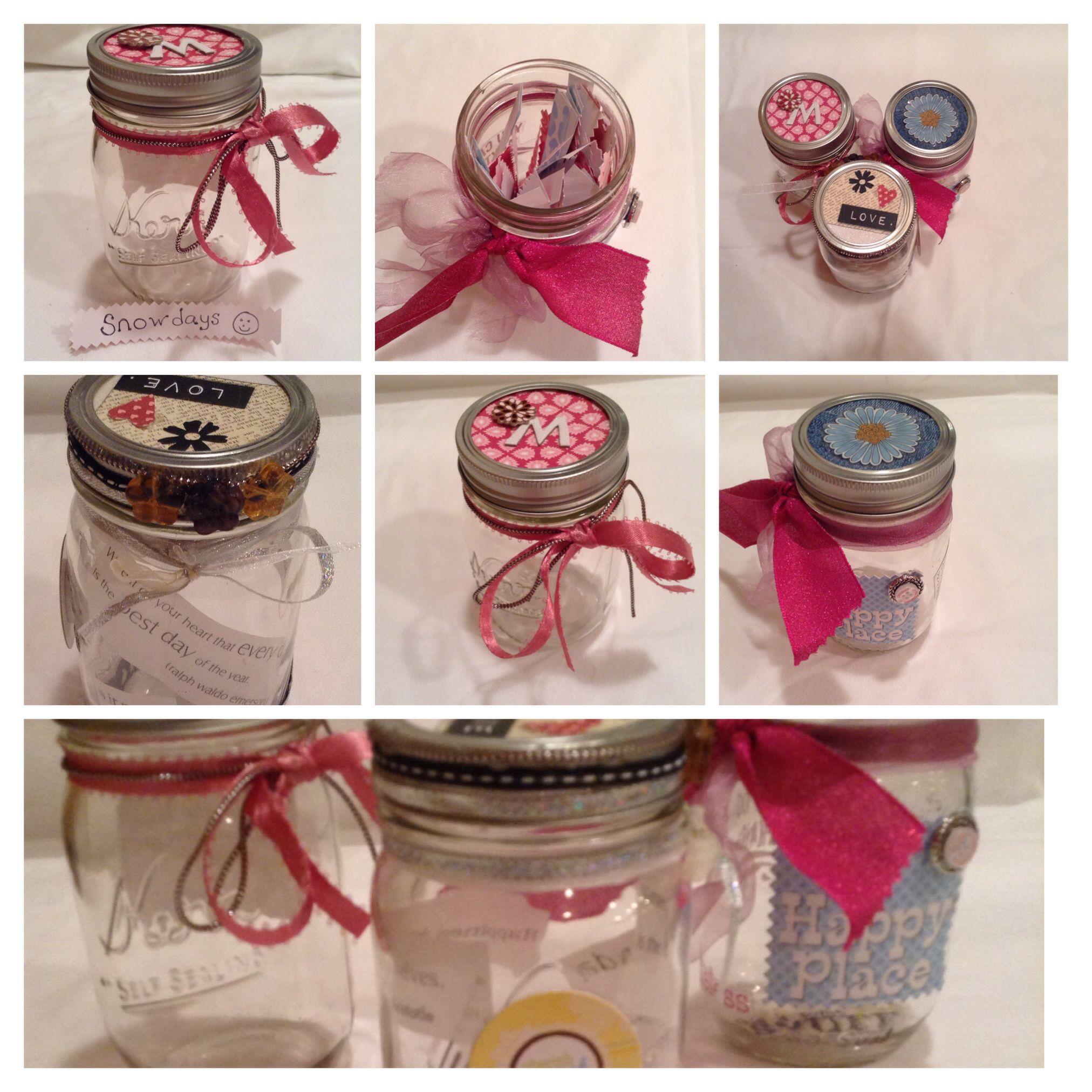 Decorating Jars New Years Craft Happiness Jars Decorate Mason Jars