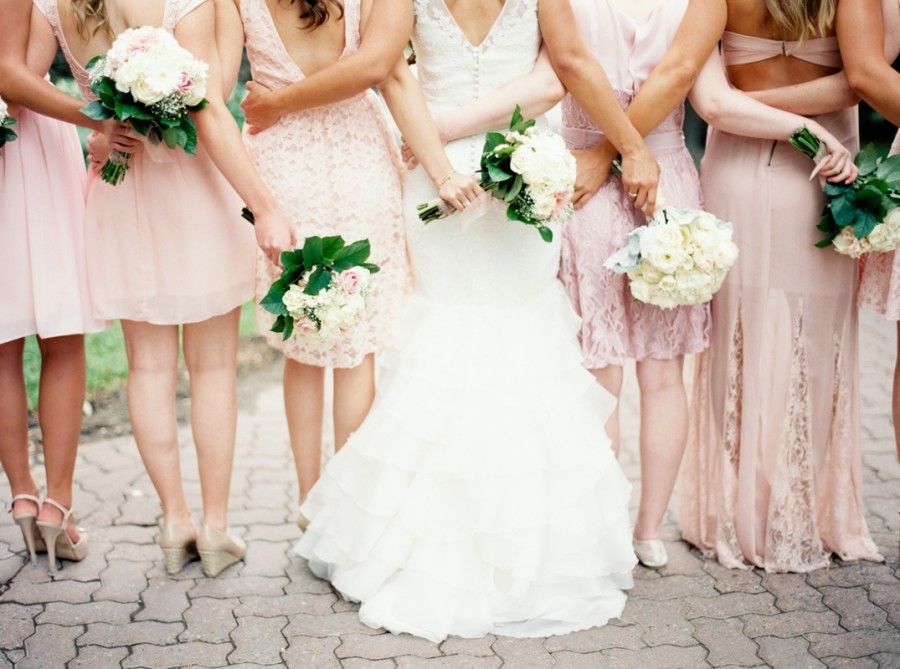 Keep these 4 things in mind when mixing and matching your bridesmaids!