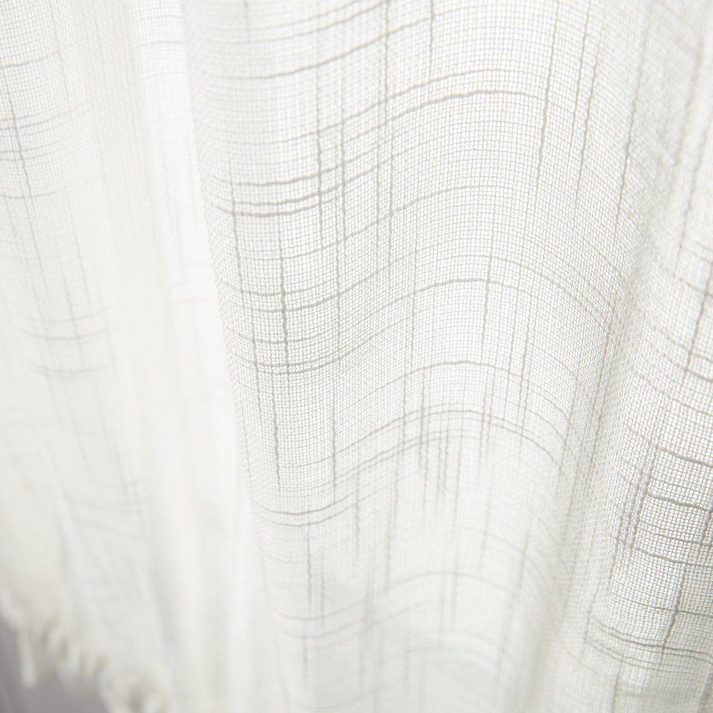 linen textured french door panel