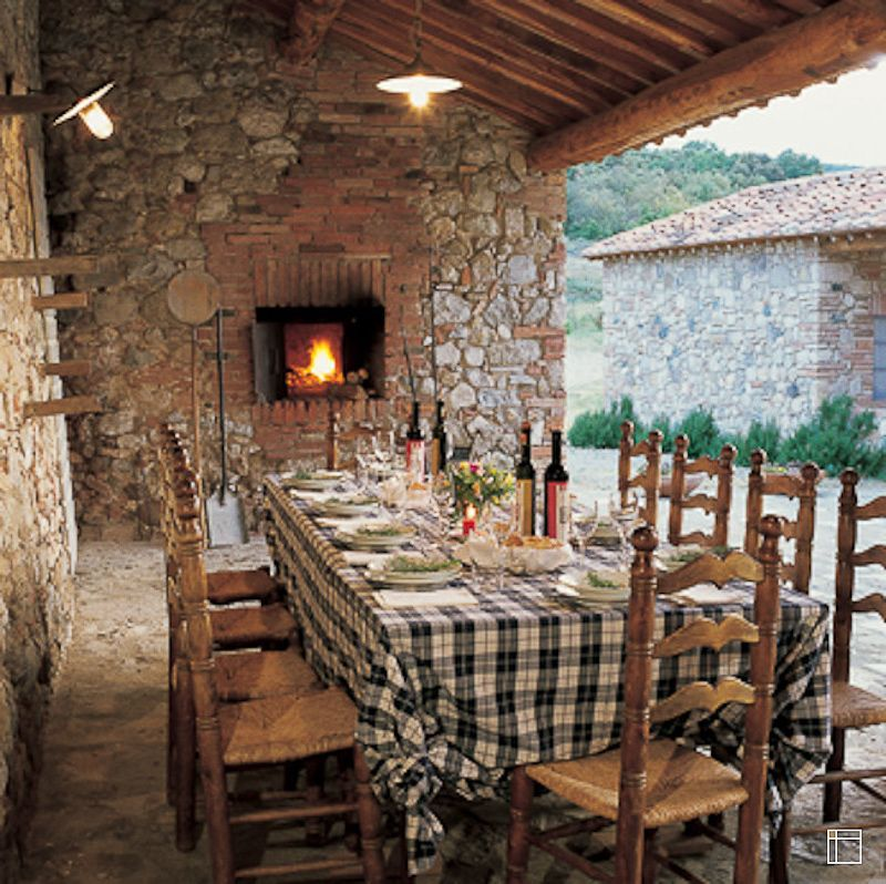Italian Farmhouse Plans The Cosmopolitan Tuscany Interior Design Style