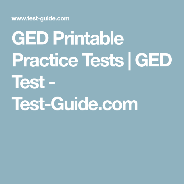 picture regarding Ged Printable Practice Tests named Pin upon Grownup Literacy