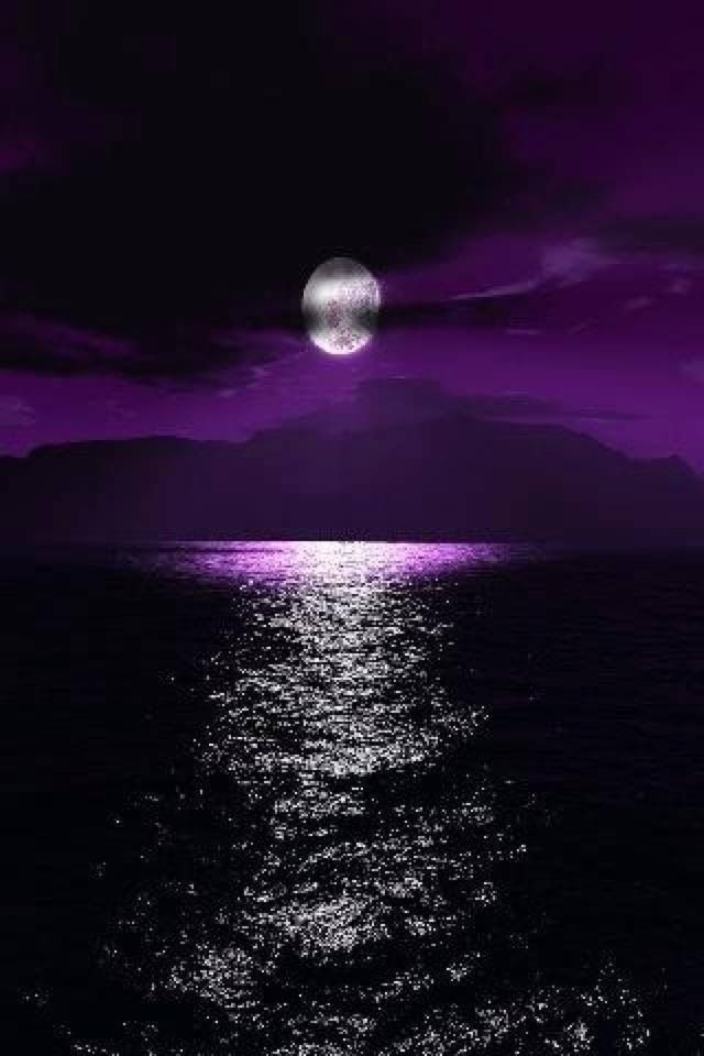 Pin By Hồng Ha Nguyễn On Moon Beautiful Moon Purple Sky Beautiful Pictures