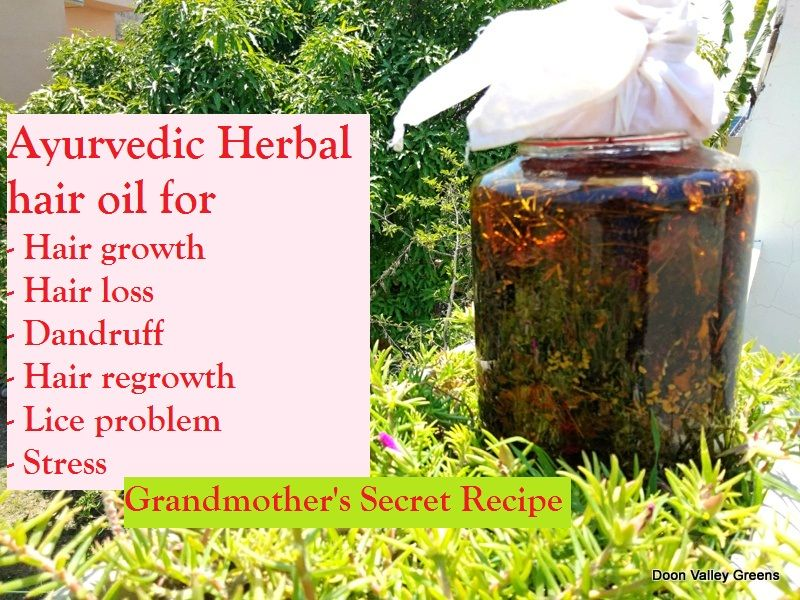 Ayurvedic hair oil recipe in 2020 (With images