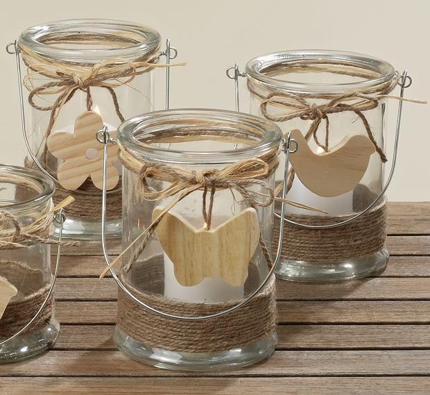 windlicht kerzenhalter teelichthalter svea glas holz h17cm basteln pinterest. Black Bedroom Furniture Sets. Home Design Ideas