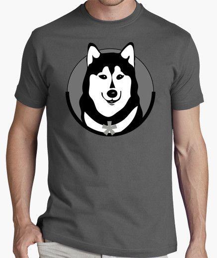 Camiseta Husky Siberiano  acfca7b3c78d2