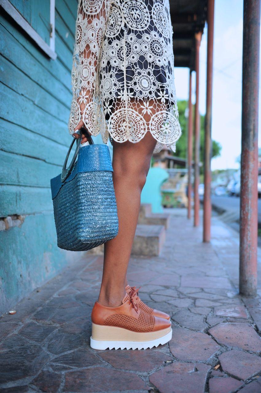 Stella Mccartney Wicker Shoes
