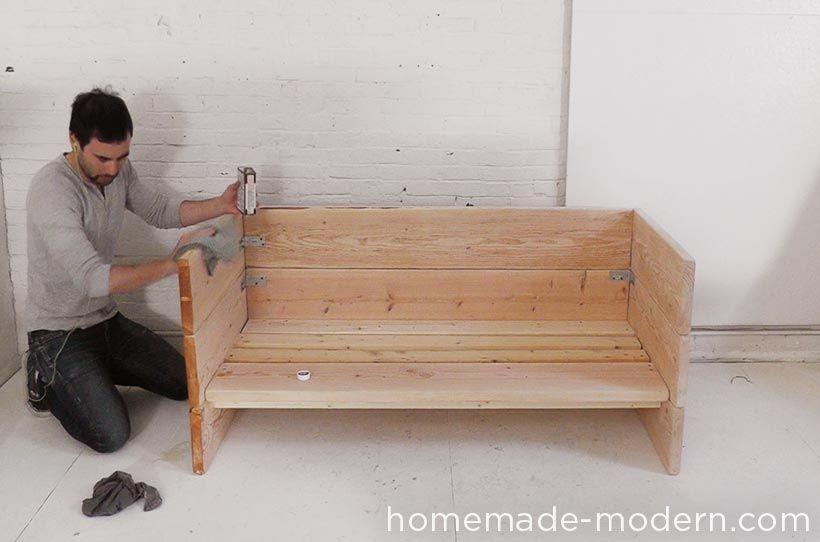 Homemade Modern Ep66 Box Sofa Homemade Sofa Diy Sofa Sofa Handmade