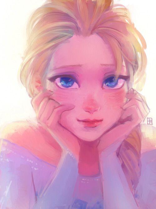 Image via We Heart It https://weheartit.com/entry/159766829 #anna #cartoon #disney #frozen #icequeen #jackfrost #olaf #elsa