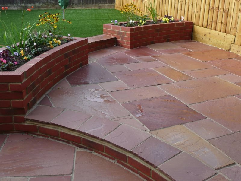 Modak sandstone is a stunning mix of pink, rose, honey and terracotta colors. It is the popular sandstone due to its physical properties.......