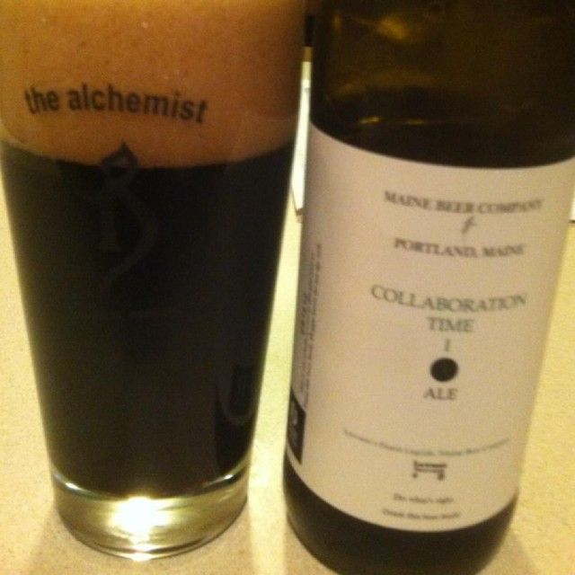 Collaboration Time I by Maine Beer Company