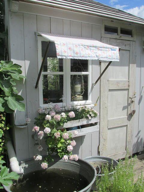 Markise Nahen Garten Sonnenschutz Garten Cottage Garten Design