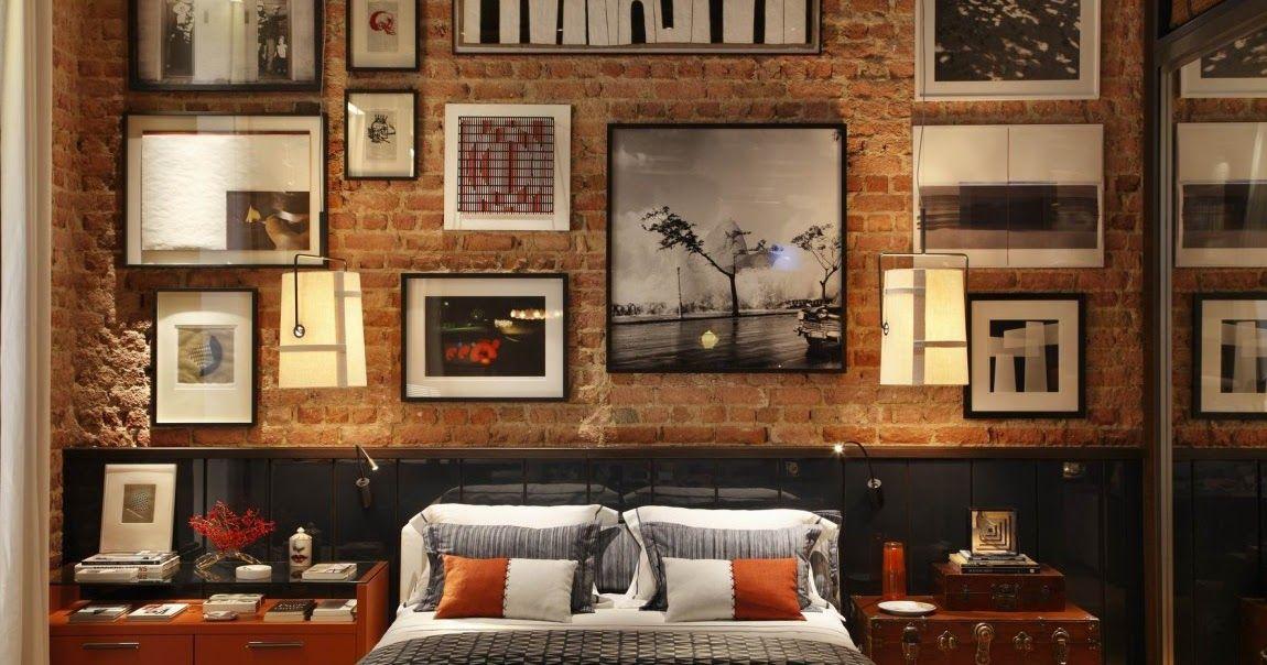 Dormitorios con paredes de ladrillos dormitorios for Disenos para decorar paredes de dormitorios