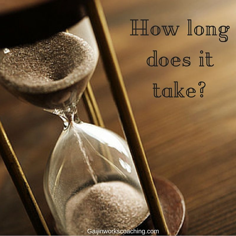 How long does it take how to avoid stress hourglass life