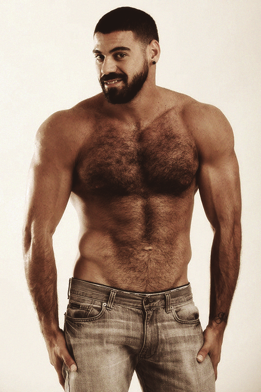 Ricky Larkin. Cute, Furry And HOT ! OMG!! This Guy Just