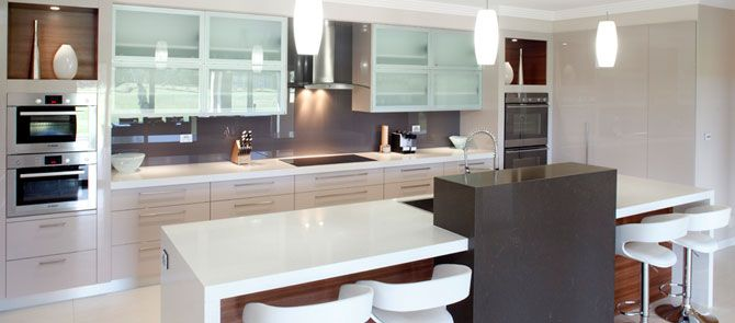 Polyurethane & Timber Veneer Kitchen Sydney  Modern Sydney Inspiration Kitchen Designs Sydney Design Decoration