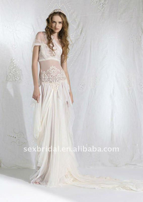2017 Cur Perspective Bohemian Wedding Dress Supplieranufacturers At Alibaba