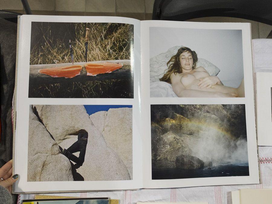 Lukas Wassmann, L. Foto Andrea Gamst, from Offprint Paris