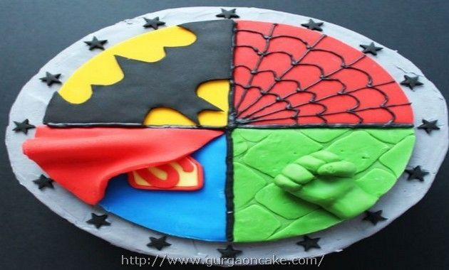 Character Birthday Cakes Asda ~ Marvel birthday cake asda picture birthday cake