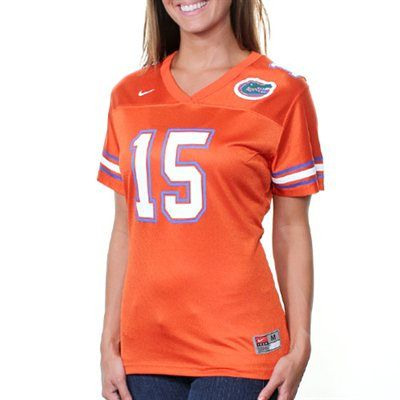 $54.00 med Nike Florida Gators #15 Women's Replica Football Jersey ...
