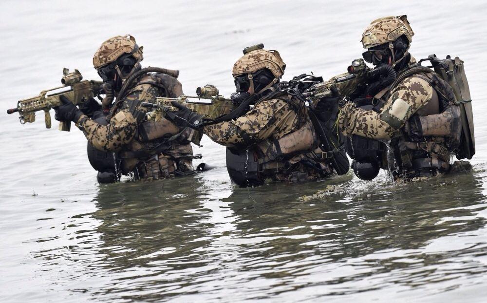 Kampfschwimmer der Bundesmarine (German Navy seals) 2014