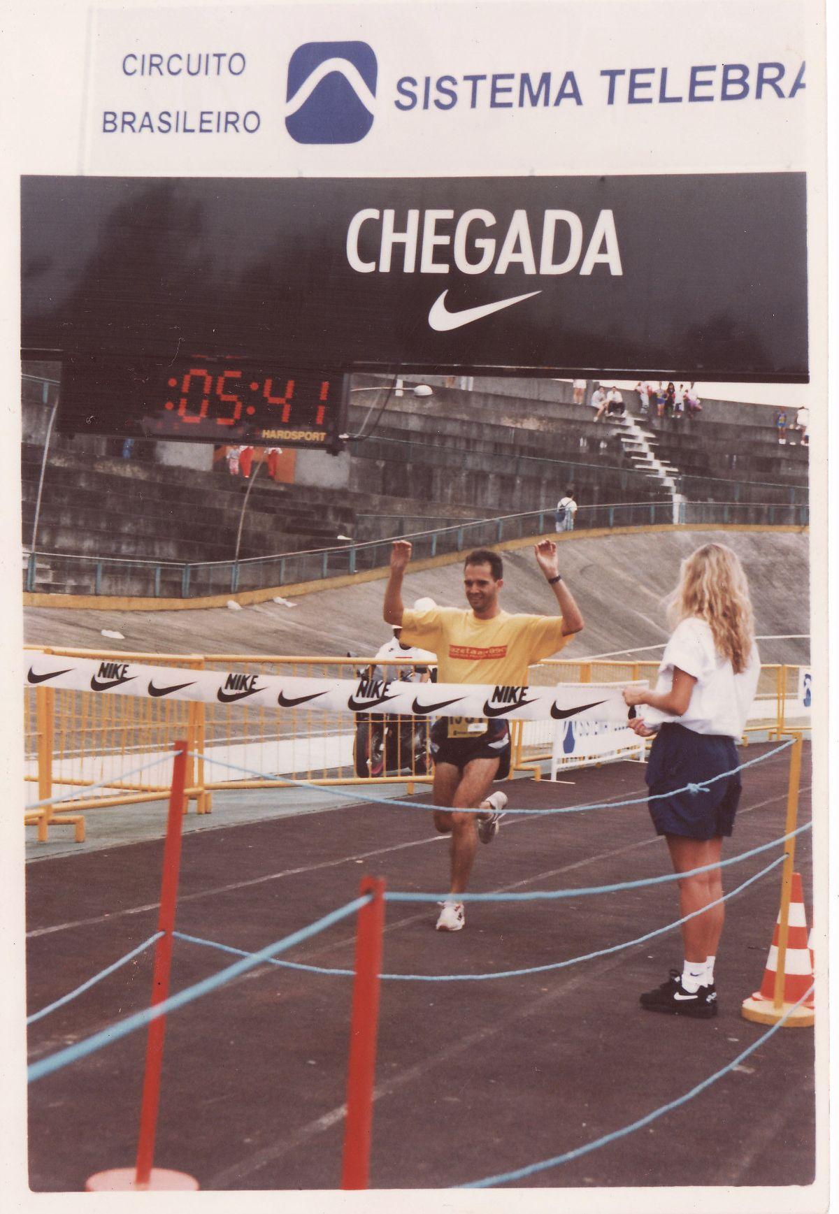 Chegada em 1996 - 1º lugar