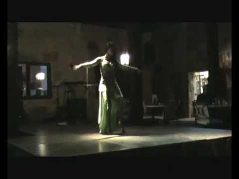 Belly Dancer Mariana Elias - Drum Solo - Movenpick Dead Sea - Jordan